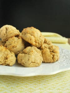 Easy Whole Wheat Drop Biscuits are healthy, delicious, and ready in about 20 minutes! | Back To The Book Nutrition