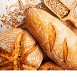 Collage: image of breads and text overlay: Is gluten really bad for you?